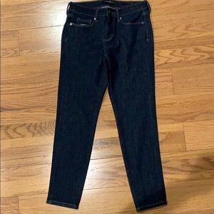 Banana Republic skinny jeans in Indigo